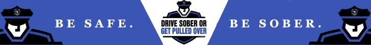 Be Safe. Be Sober.